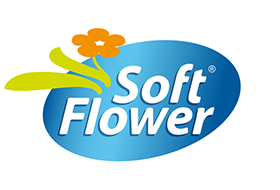 Soft flower logo